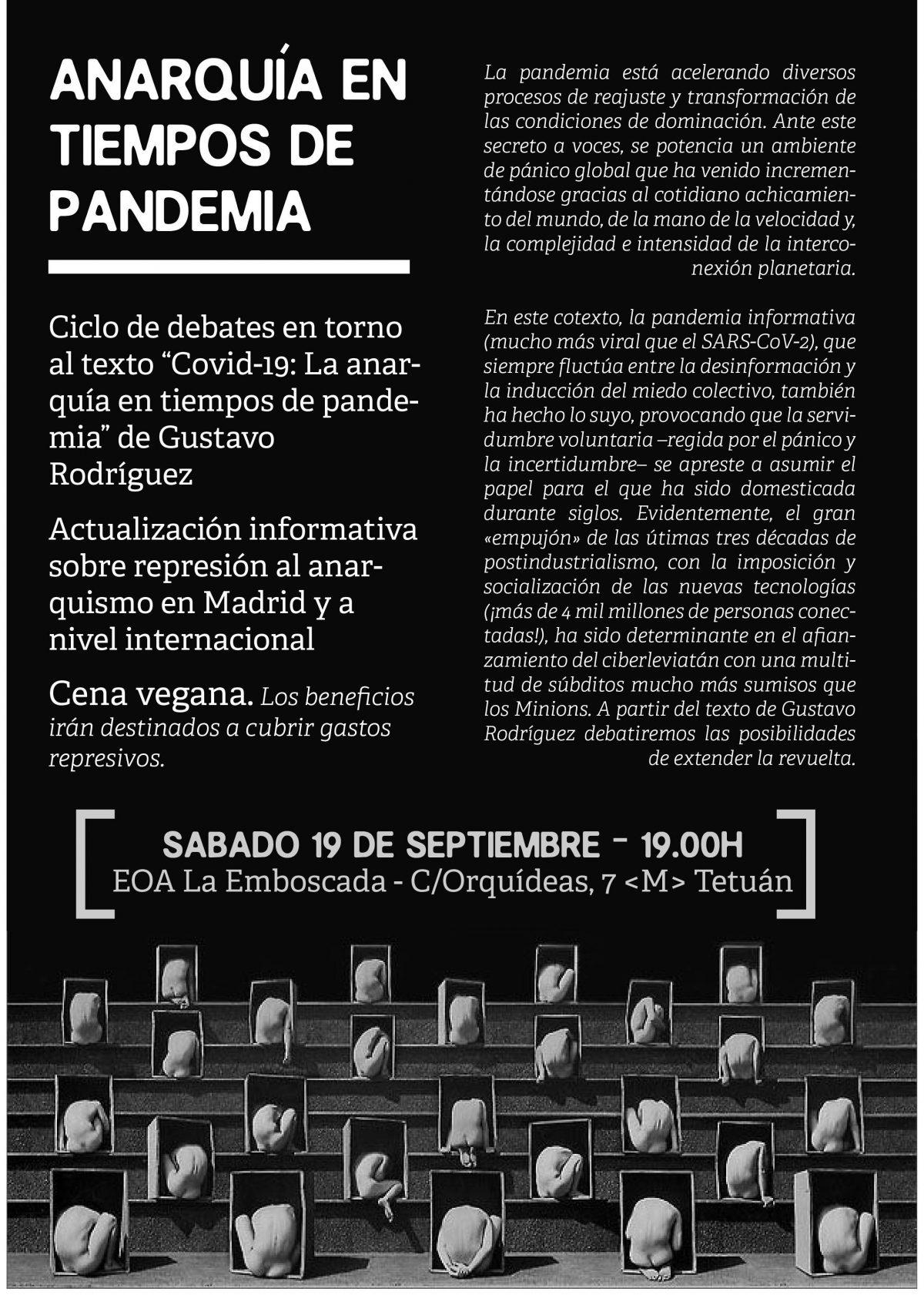 Anarquía en tiempos de pandemia